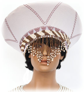 Zulu Bridal Hat