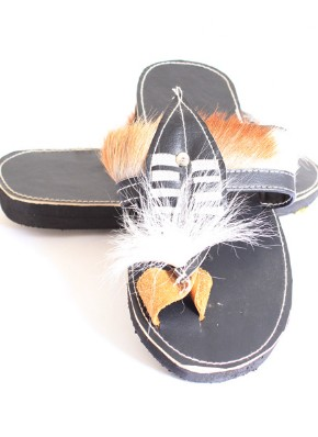Shield Sandles-Traditional Zulu Foot Wear by Retail Bliss